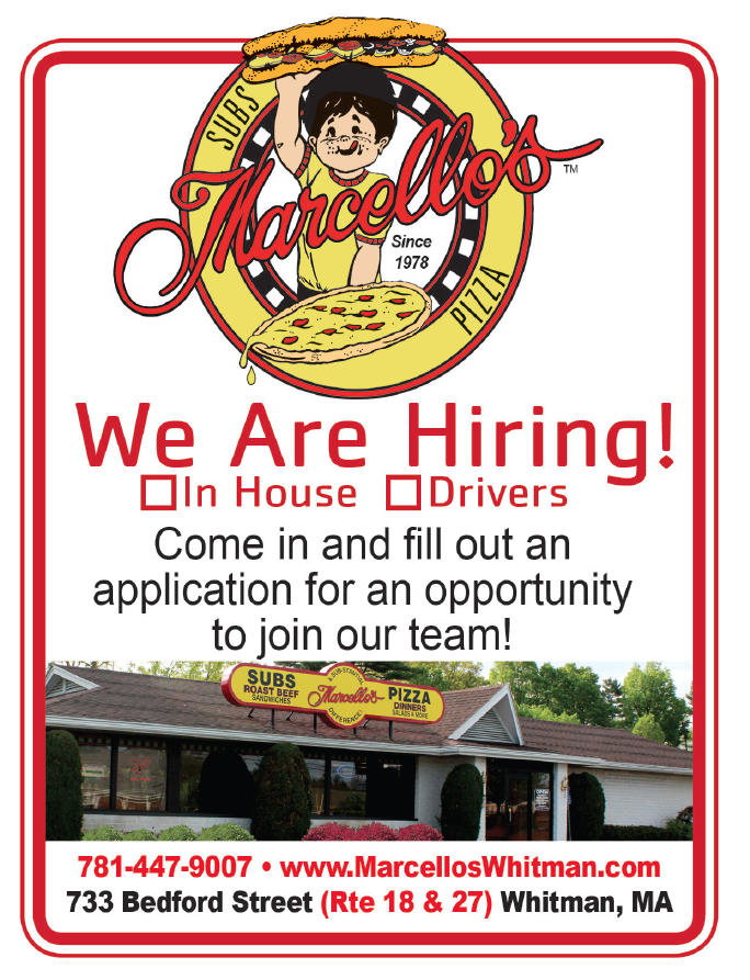 Marcello's is hiring!