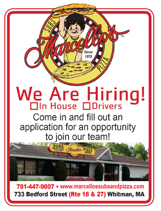 Marcello's is Hiring